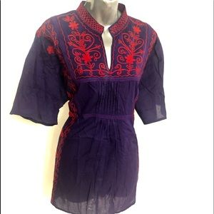 Brand New Women's Short Sleeve Top Made In India!
